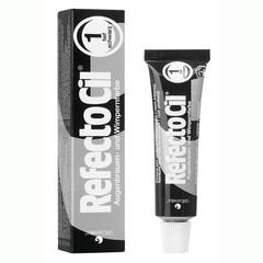 RefectoCil Pure black 1 - Barva na řasy a obočí Černá