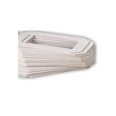 Papírová podložka pod vosk obdélníková 10ks