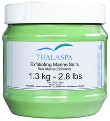 Thalaspa Exfoliating Marine Salts mořská peelingová sůl 1,3Kg
