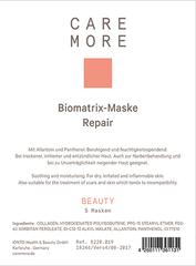 Biomatrix Maske Kolagenová zklidňující a hydratační maska 1 Ks