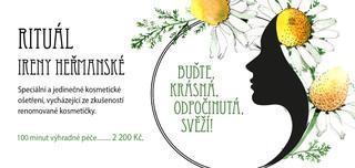 Kosmetický rituál Ireny Heřmanské