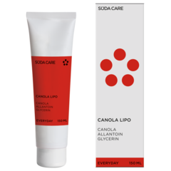 SUEDA CANOLA LIPO Krémový balzám na citlivou kůži 150 ml