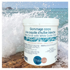 BODY SCRUB WITH WHITE OYSTER SHELL 1,2 kg